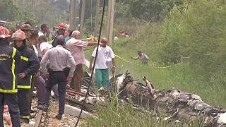Más de un centener de muertos por un accidente aéreo en Cuba