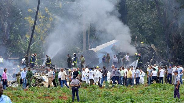 A Boeing 737 crashed shortly after taking off from Cuba's main airport.