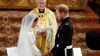 """Royal wedding, il Principe Harry e Meghan Markle hanno detto """"Sì"""""""