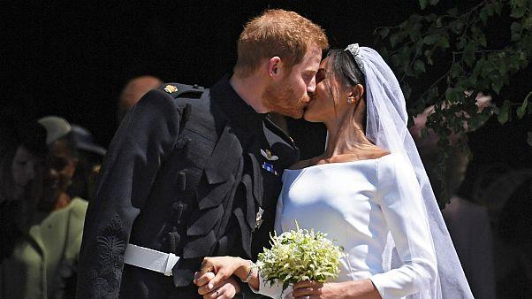 تغطية كاملة لمراسم زفاف الأمير هاري وميغان ماركل