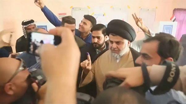 Der Geistliche Al-Sadr gewinnt Wahl im Irak