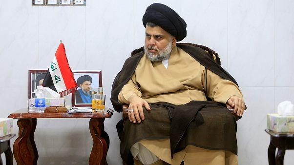 Irak'ta muhalif din adamı Mukteda El Sadr seçimlerden galip çıktı