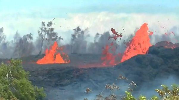 El volcán Kilauea no da tregua a los hawaianos