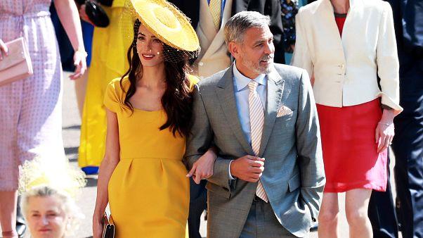 شاهد: أبرز المشاهير بزفاف الأمير هاري وميغان ماركل