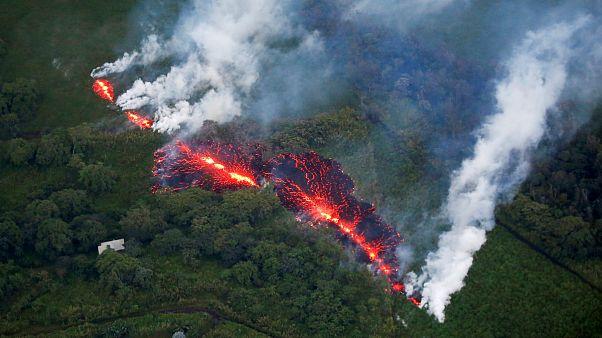 Ismét kitört a hawaii Kilauea vulkán
