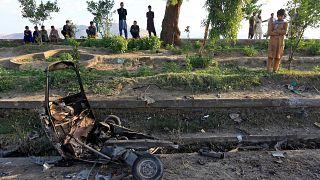 عشرات القتلى والجرحى في انفجارات باستاد في أفغانستان
