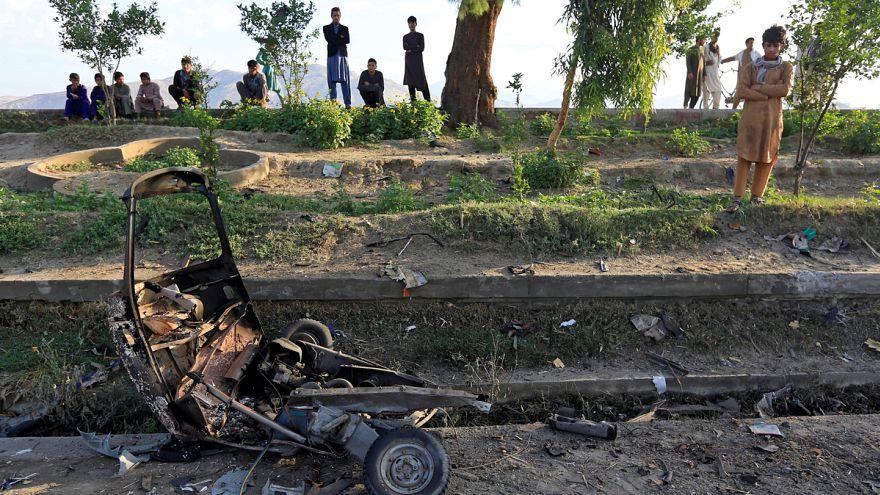 Afganisztán: stadiont lőttek rakétákkal
