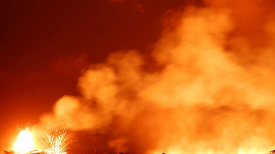 Χαβάη: Συνεχίζονται οι εκρήξεις στο ηφαίστειο Κιλαουέα