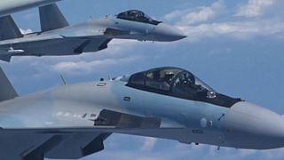 رزمایش بمبافکنهای چینی در جزایر مورد مناقشه در دریای جنوبی چین