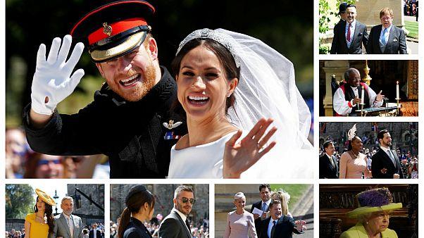 Kraliyet Düğünü'nün ünlü konukları