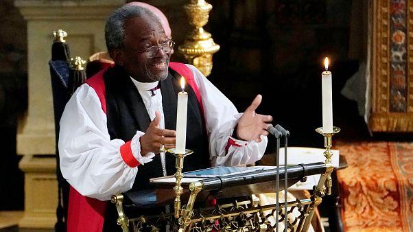 El sermón sobre el amor que ha dejado atónita a la familia real británica