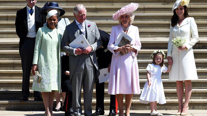 A-listás vendégek a királyi esküvőn