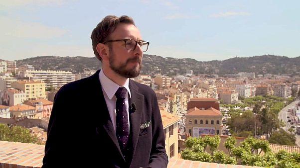 Robbie Collin, Cheffilmkritiker des Daily Telegraph, in Cannes