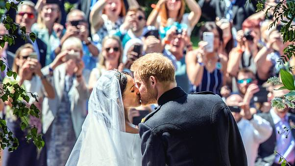 Kraliyet düğününden öne çıkan kareler