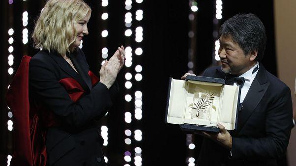Die Goldene Palme von Cannes geht nach Japan - die bewegendsten Momente