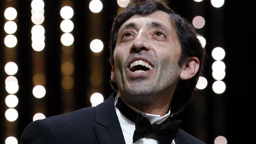 Az olasz Marcello Fonte nyerte a zsűritől a legjobb férfialakítás díját a cannes-i filmfesztiválon a Dogman főszerepéért