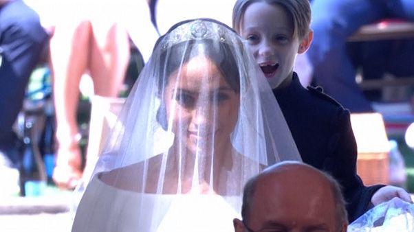 The kid who 'photobombed' the Royal Wedding
