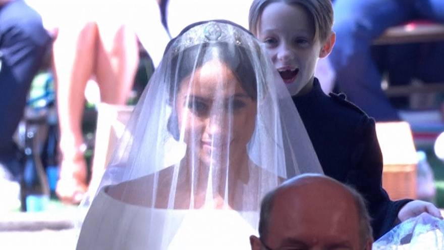 The kid who 'photobombed' the Royal Wedding