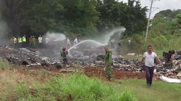 Hallada una caja negra del avión accidentado en Cuba