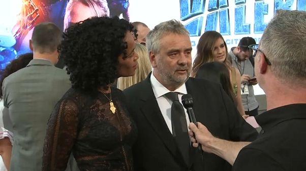 Una actriz denuncia por violación al director francés Luc Besson