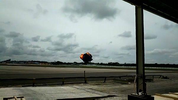 جعبه سیاه هواپیمای سقوط کرده کوبایی پیدا شد