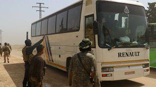 إجلاء مقاتلين من داعش من منطقة قرب دمشق