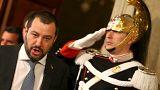 Matteo Salvini, chef de la Ligue (ex-Ligue du Nord)