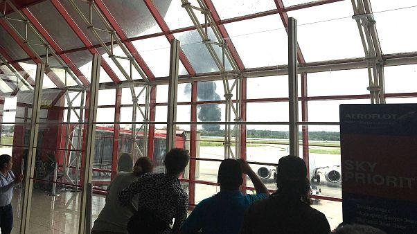 Küba'da kaza yapan uçağın karakutusu bulundu