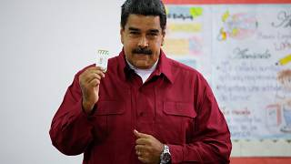 مادورو يدلي بصوته في انتخابات رئاسية مثيرة للجدل