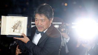Hirozaku Kore-eda took the festival's highest honour