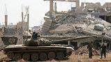 خروج داعش از حومه دمشق