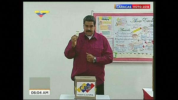 В Венесуэле ждут результатов выборов президента