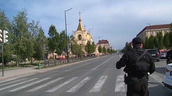 Нападение на церковь в Грозном