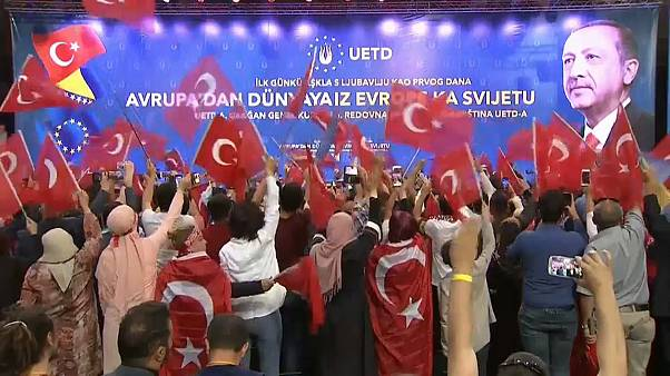 Эрдоган в Сараеве