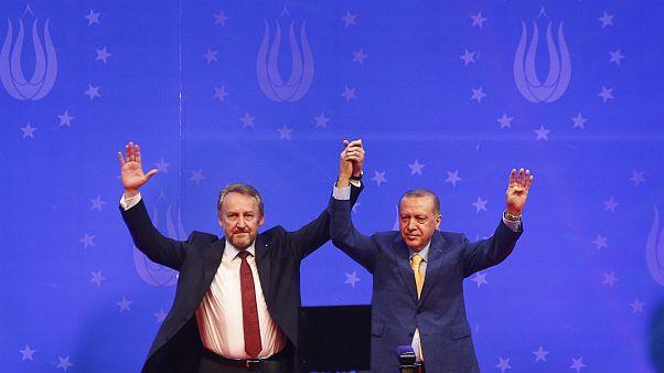 Szarajevóban kampányol Erdogan