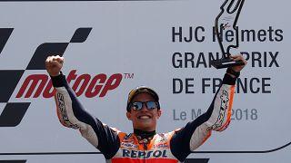 MotoGP Fransa'nın galibi İspanyol sürücü Marc Marquez oldu