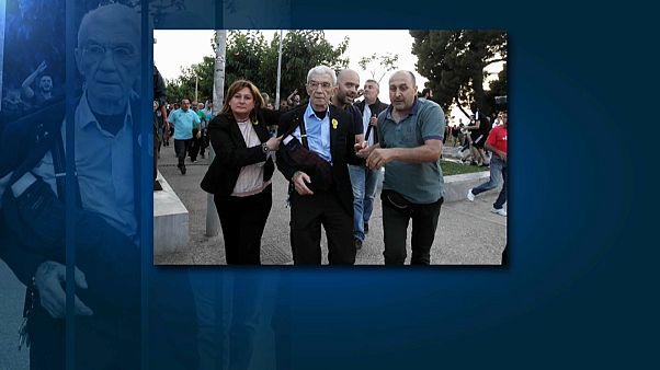 Dan una brutal paliza al alcalde de Salónica