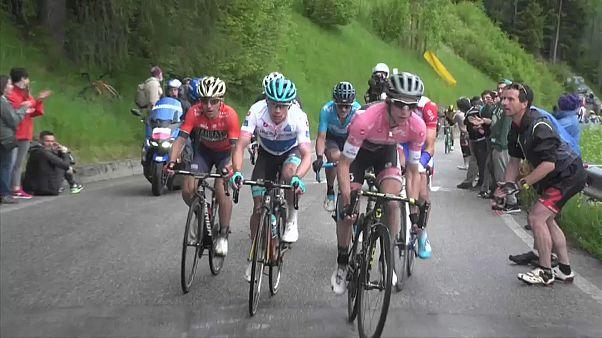 Giro d'Italia: Yates baut in Sappada Führung aus