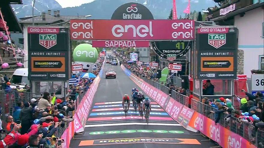 """""""Джиро д'Италия"""": Йейтс укрепляет лидерство"""