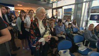 Dr. Jane Goodall in Budapest