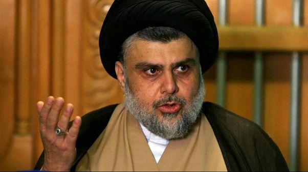 مقتدی صدر با رهبر ائتلاف شبهنظامیان «اتحاد فتح» دیدار کرد