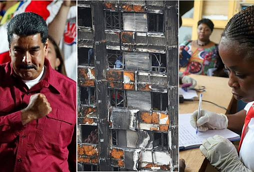 Live updates: Maduro victory; trade war; and Ebola outbreak
