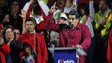 Nicolas Maduro hat Pr¨äsidentschaftswahlen in Venezuela mit knapp 68 % gewonnen