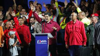 Venezuela'da seçimlerin galibi Nicolas Maduro