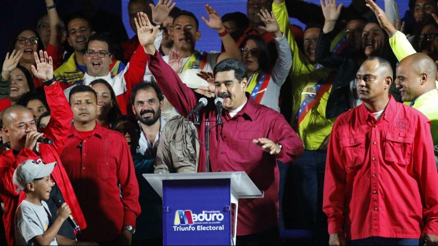 """Maduro reclama triunfo e troca nome de rival por """"Falsón"""""""