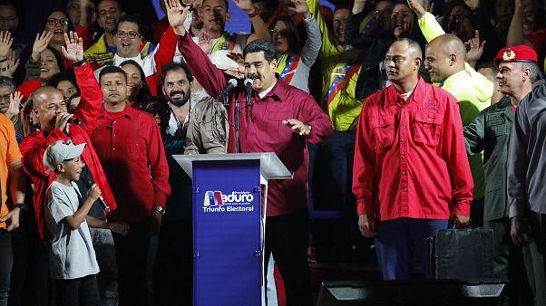 Maduro agradece a los venezolanos su victoria, entre sospechas de irregularidades