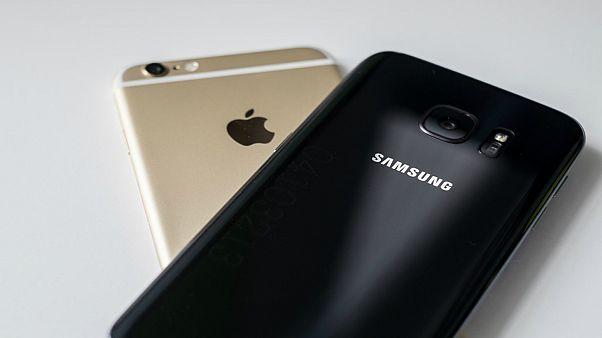 كم يبلغ تصميم هاتف أيفون الذي اقتبسته سامسونغ؟