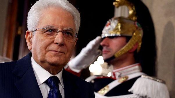 Ιταλία: Το «μπαλάκι» ξανά στον Σέρτζιο Ματαρέλα