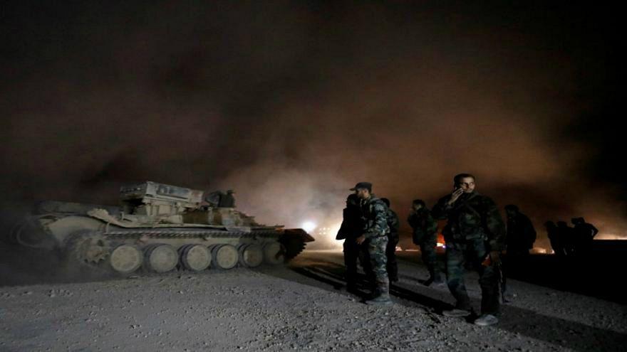 الجيش السوري يستعيد السيطرة على منطقة الحجر الأسود من داعش