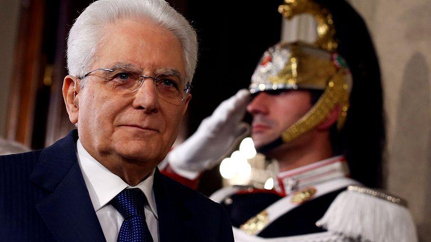 Президент Италии Серджо Матарелла
